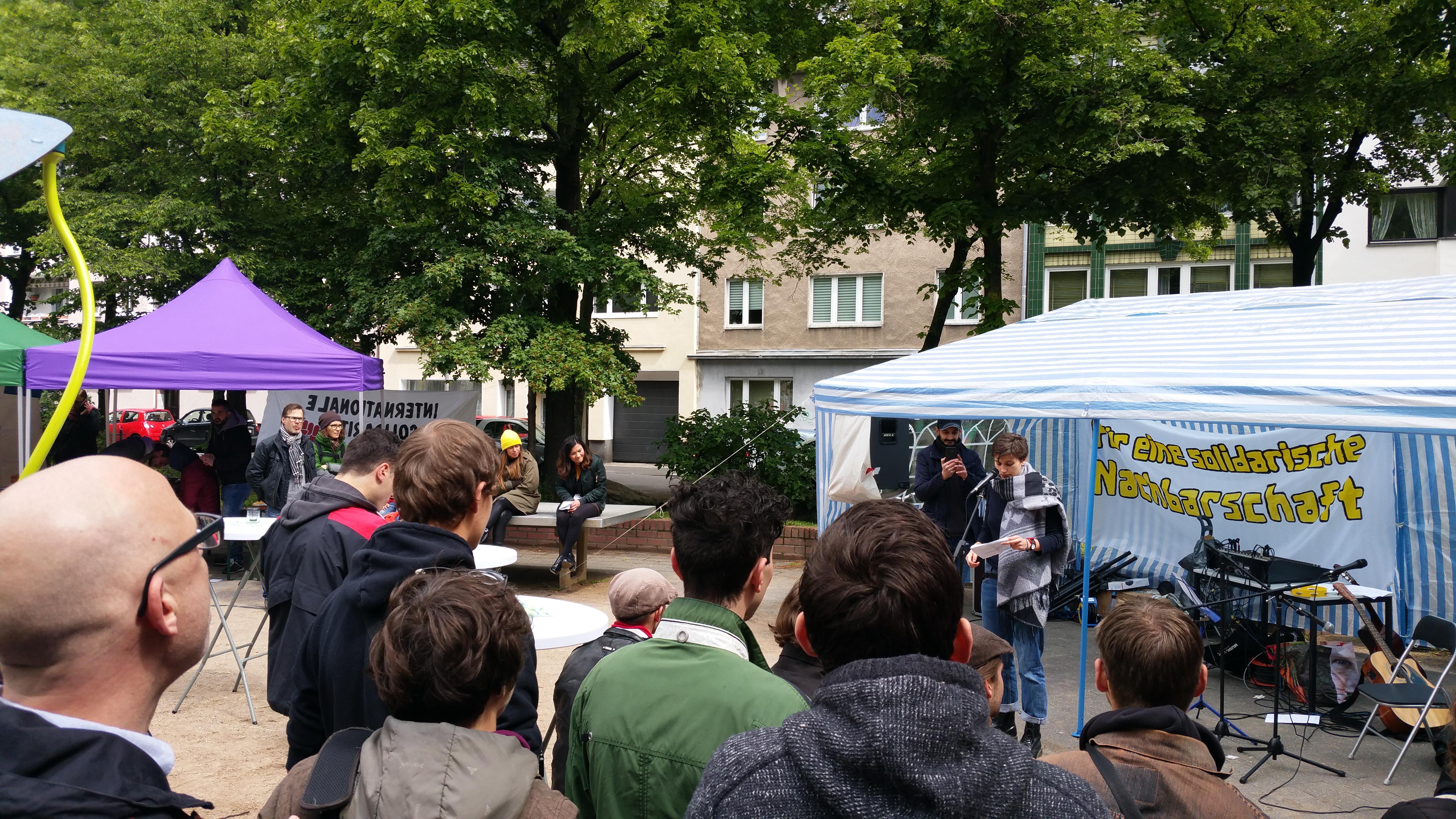 Bericht Zum Ersten Solidarischen Maifest In Köln Kalk
